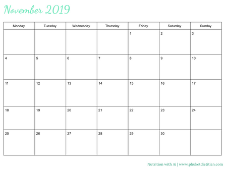 Calendar download: free. Planning is the key to success.