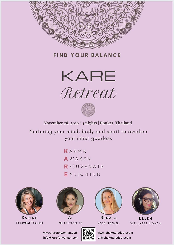 KARE retreat poster