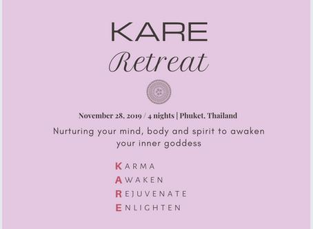 KARE Retreat: Nurturing your mind, body and spirit to AWAKEN your inner goddess