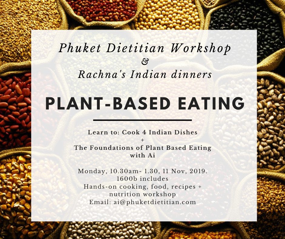 Plant based eating Workshop  with rachna