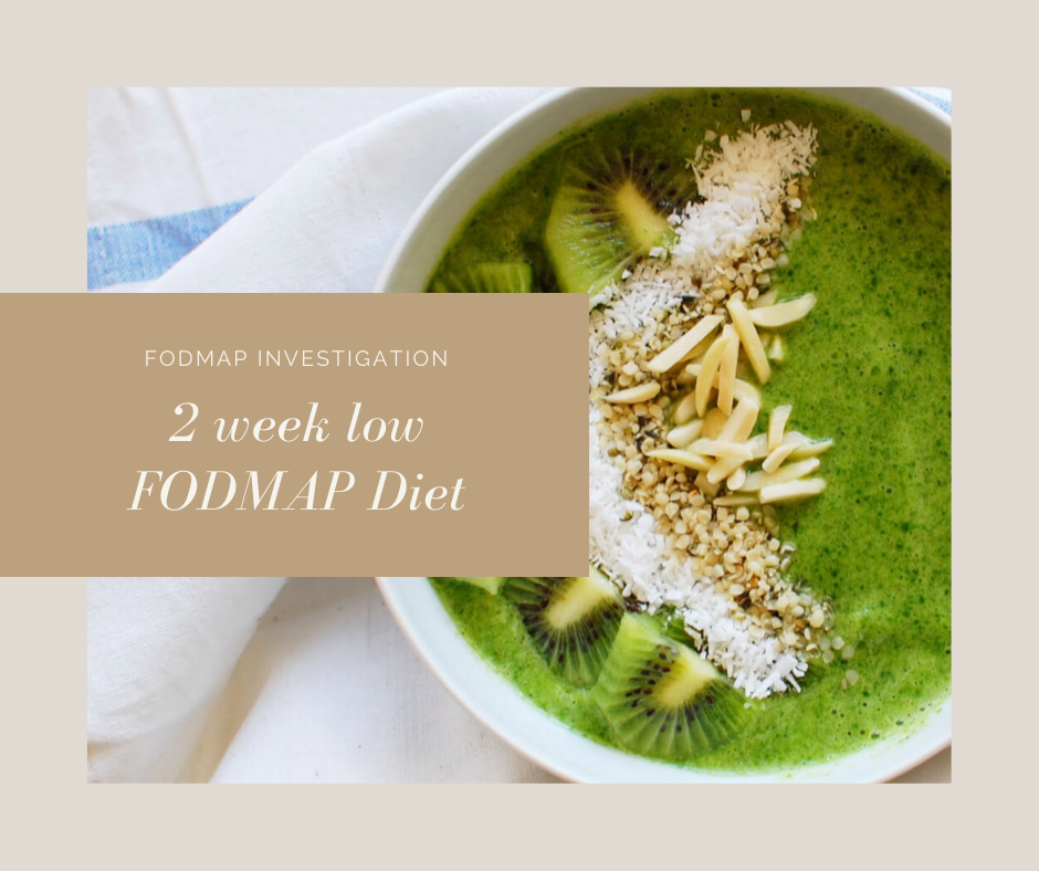 Get Started: 2 week Low FODMAP Diet eBook