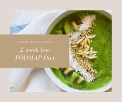 Get Started: 2 week Low FODMAP Diet eBook