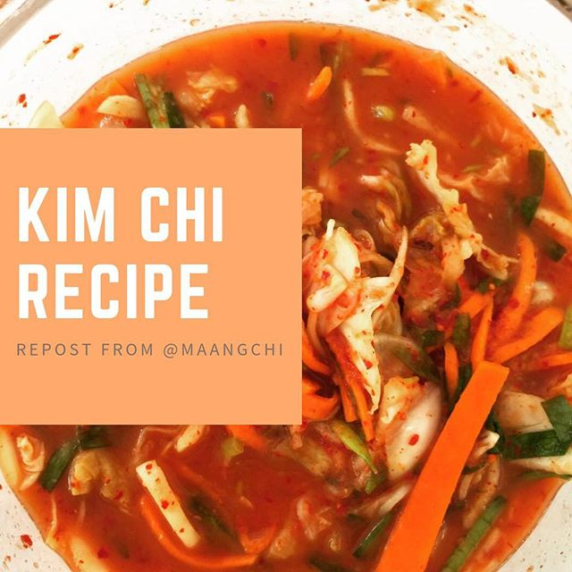 Kim Chi recipe- Just for you! I made thi