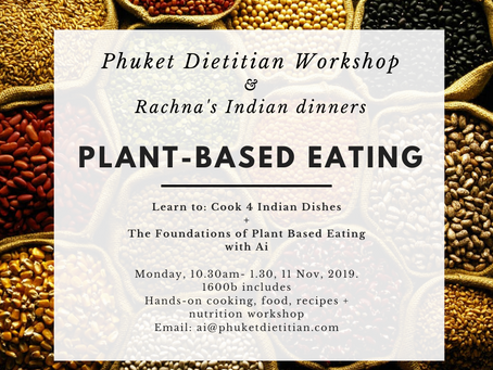 Plant-Based Eating Nutrition and Cooking Workshop