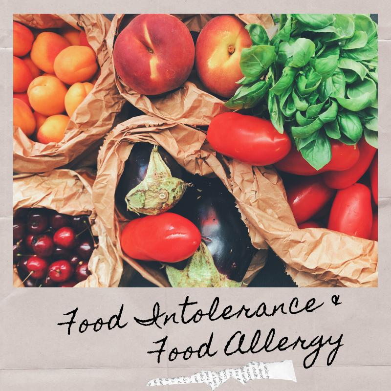 Food Intolerance & Food Allergy