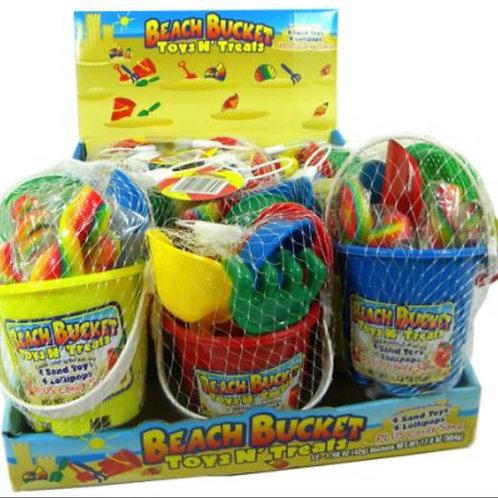 Beach Bucket - Toys N' Treats