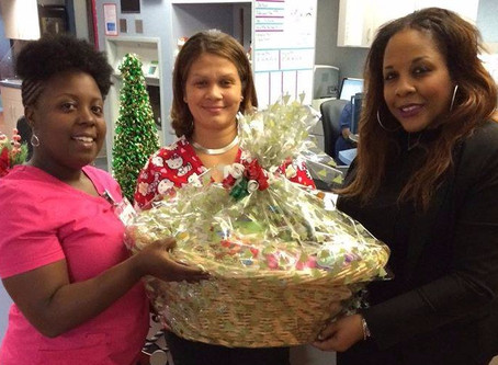 Sweet Candy Café Delivers Holiday Wishes to Pediatric Patients