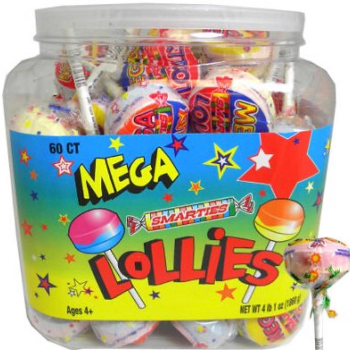 Mega Smarties Lollipop