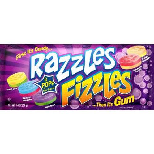 Razzles Fizzles Gum