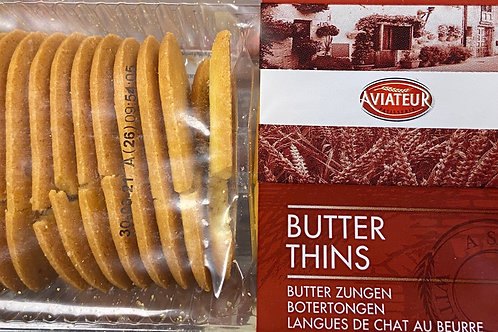 Butter Thin Cookies