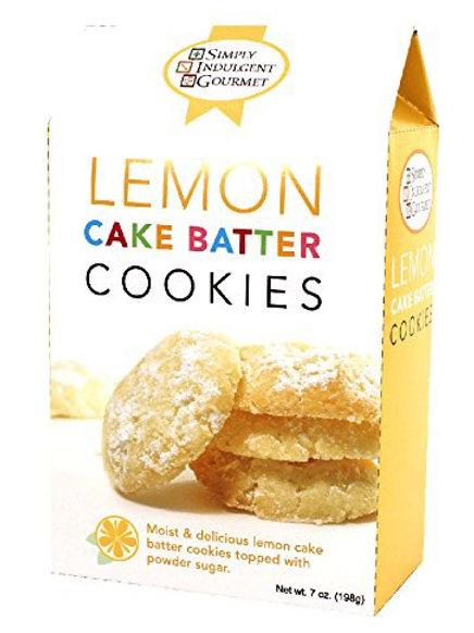 Lemon Cake Batter Cookies