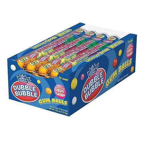Dubble Bubble Fruit Gum Balls