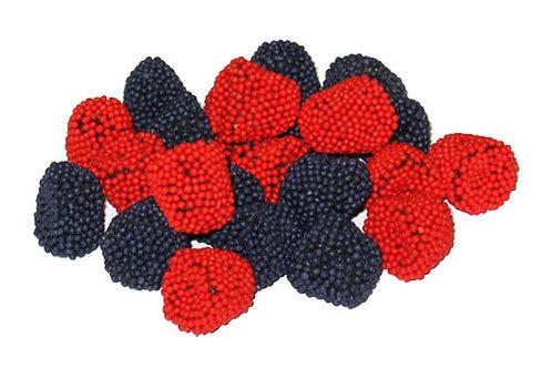 Strawberry and Blackberry Gummis
