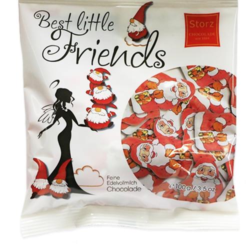 Best Little Friends – Milk Chocolate Santas