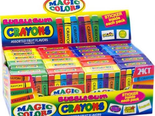 Bubblegum Crayons