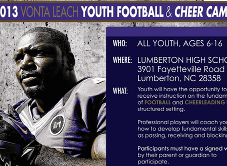 Confectionary Supports Vonta Leach Foundation Event