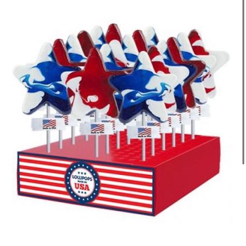 Patriotic Lollipops