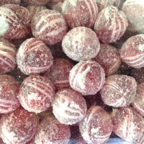 Frosted Cinnamon Balls
