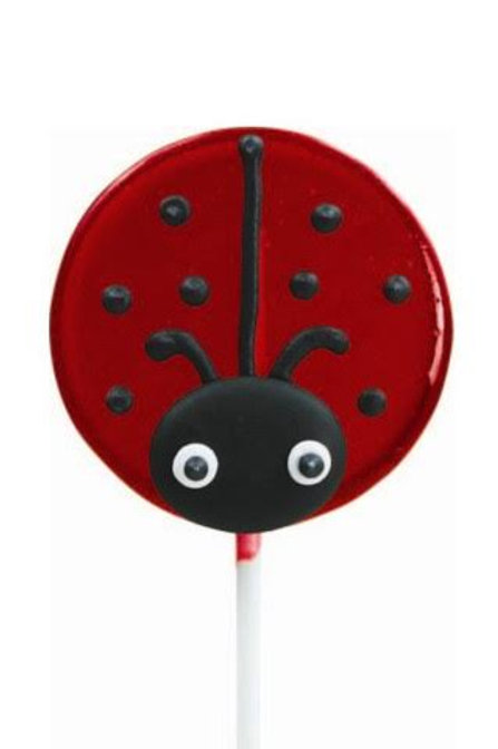 Lady Bug Lollipop