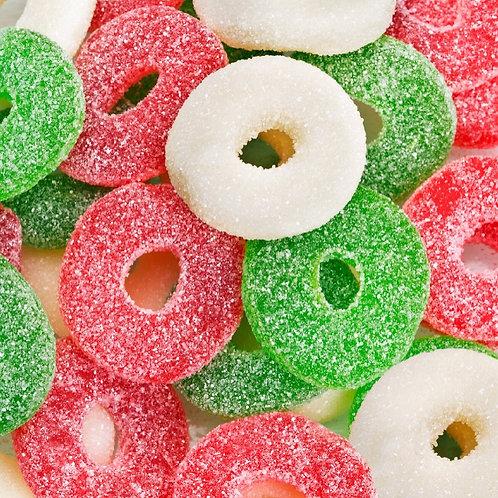 Christmas Gummy Rings