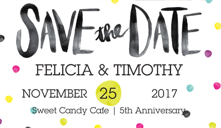 Save the Date: 5th Anniversary