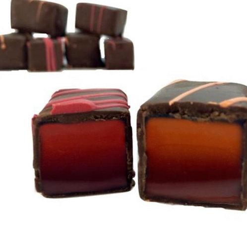 Dark Chocolate Raspberry Jellies