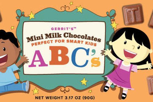 Mini Milk Chocolate ABCs