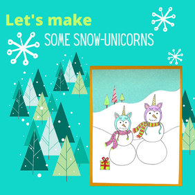 Snowman Unicorns