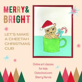 Cheetah Christmas Cub