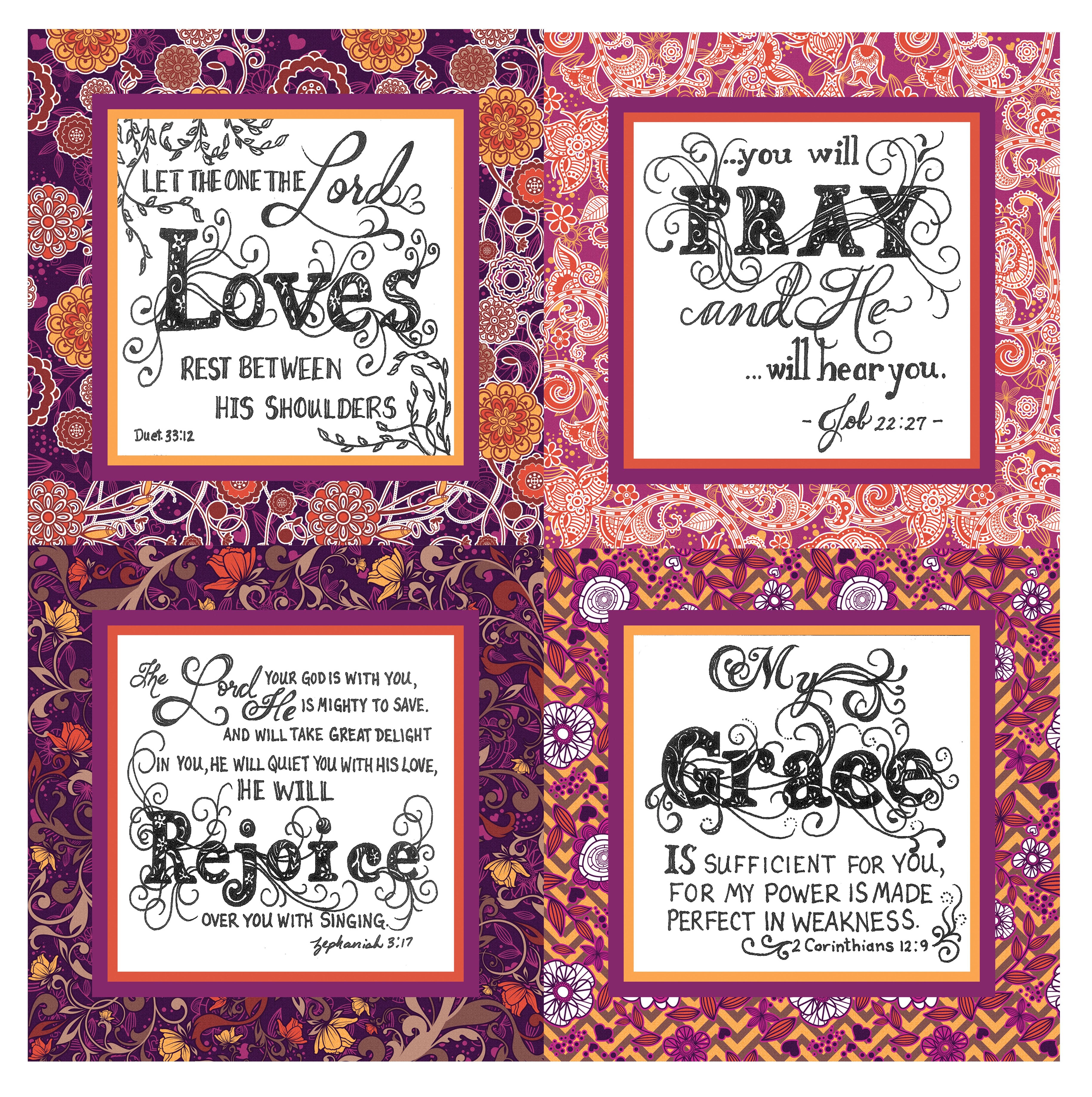 Purple.Orange.HandDrawnScriptures