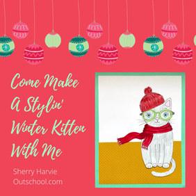 Stylin' Winter Kitten