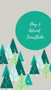 Day 3 - Advent Snowflake