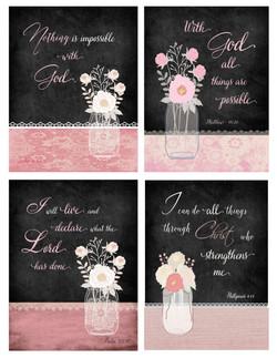 Scripture Minis.5.Pink Series