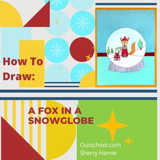 Fox Snowglobe