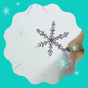 Snowflakes Lessons - free on Instagram