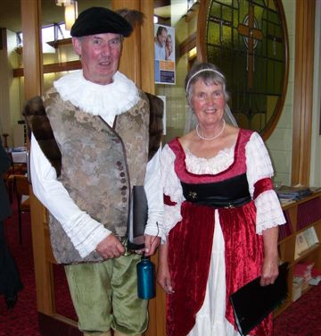 Rotorua District Choir 06 Katrin & Mark.