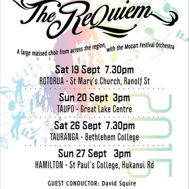 Mozart Requiem - September