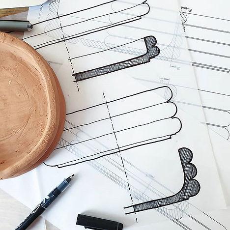 Design process: an idea, a sketch and a