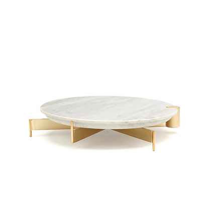 T4 | CAKE STAND - MEDIUM MARBLE TOP