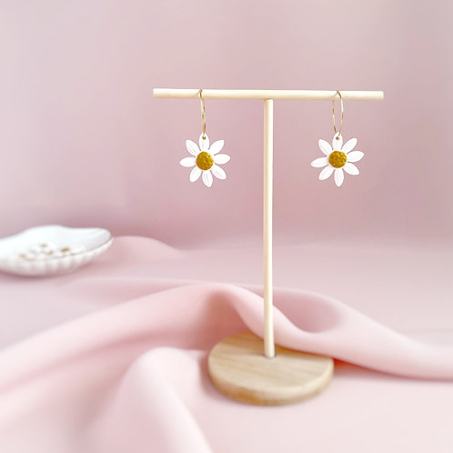 Daisy Hoops - Statement Earrings