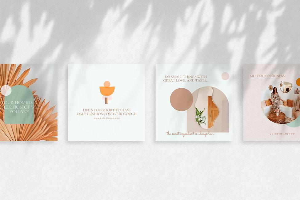Plantillas templates social media