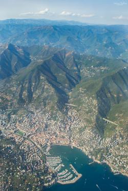 Landing in Genoa