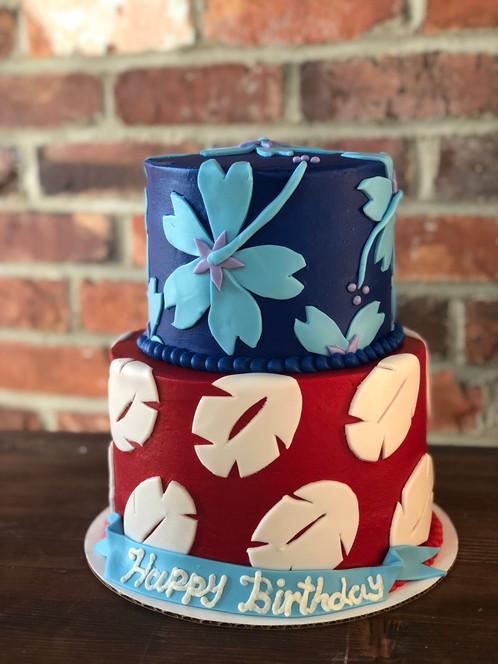 Lilo And Stitch Cake