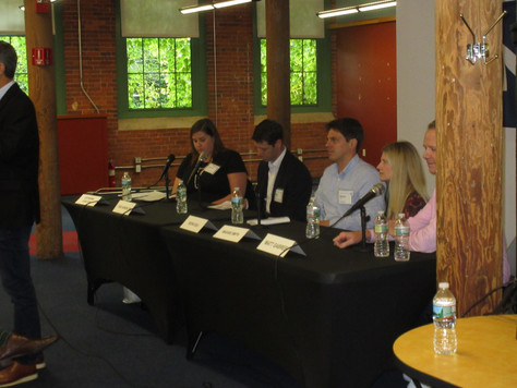 NEW ENGLAND CHAPTER HOLDS SEPTEMBER JOINT EVENT WITH THE NEWTON-NEEDHAM CHAMBER OF COMMERCE