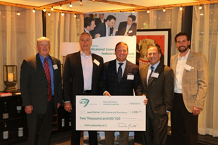 SIOR NEW ENGLAND CHAPTER 2015 ROBERT W. HOLMES SCHOLARSHIP NIGHT