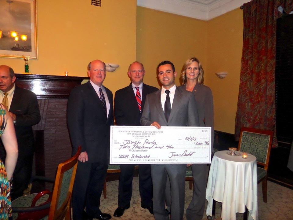 SIOR NE Robert Holmes Scholarship Award 2013