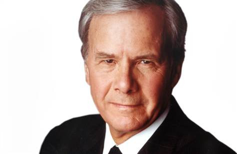 TOM BROKAW AND THE WORLD
