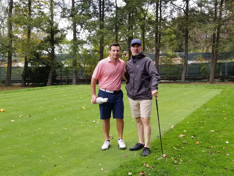 ANNUAL GOLF OUTING AND RW HOLMES SCHOLARSHIP, NEWTON, MA: Oct. 7, 2020