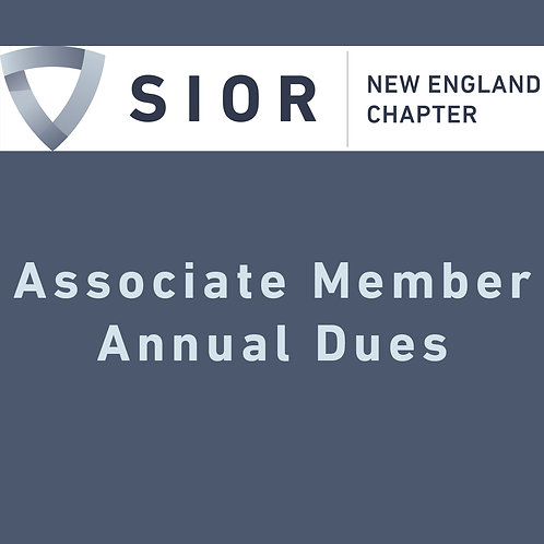 SIOR NE Associate Membership Dues