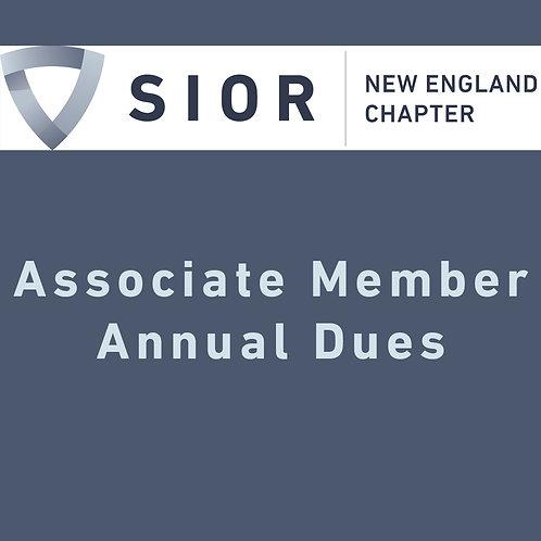 SIOR NE Associate Membership Dues